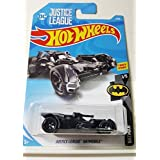 Hot Wheels 2018 50th Anniversary Batman Series DC Justice League Batmobile 1/365, Black
