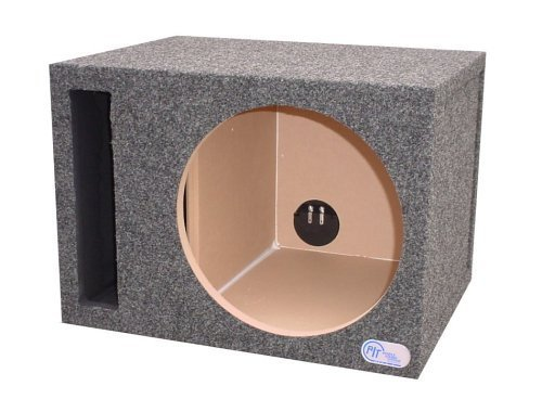 R/T 300 Enclosure Series 314-10 - Single Slot Vented 10-Inch Sub Bass Hatchback Speaker Box