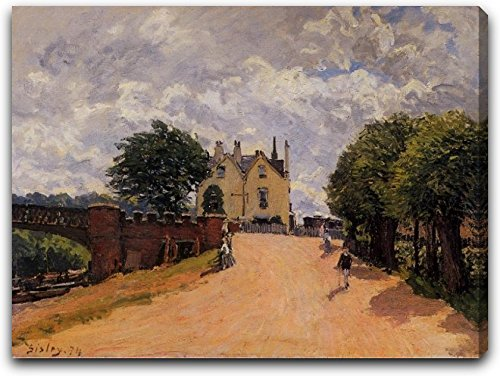 inn-at-east-molesey-with-hampton-court-bridge-by-alfred-sisley-21-x-28-gallery-wrapped-premium-canva