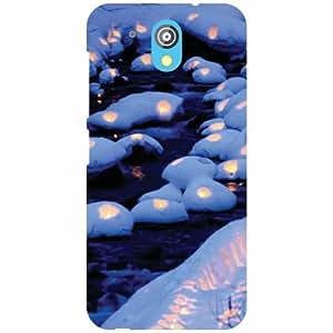 HTC Desire 526G Plus Back Cover - Nature Rocks Designer Cases