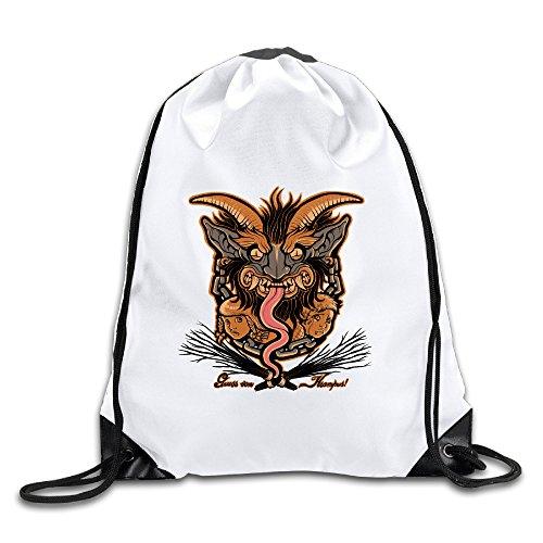 Hilal-Trum-Greetings-From-Krampus-Backpack-Gymsack-Drawstring-Sack-Bag