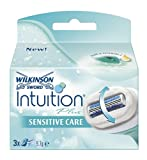 Wilkinson Sword Intuition Plus Sensitive Razor Blades 3 Pack