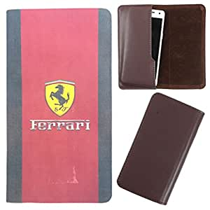 DooDa - For Micromax Bolt A082 PU Leather Designer Fashionable Fancy Case Cover Pouch With Smooth Inner Velvet
