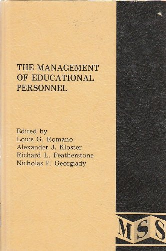 The Management of educational personnel: readings