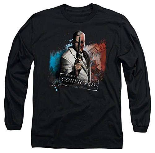 Batman Arkham City Two Face Long Sleeve T-Shirt