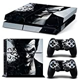 ZOOMHITSKINS PS4 Skin Decal Sticker Joker Custom Design + 2 Controller Skins Set