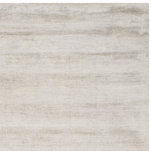 Safavieh Mirage Collection MIR801A Hand-knotted Silver and Grey Viscose Area Rug, 8 feet by 10 feet (8' x 10')