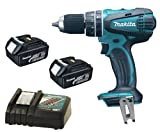 Makita 18V LXT BHP456 BHP456Z BHP456Rfe Combi Drill, 2 X BL1830 Batteries And DC18RC Charger