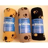 Pet Blanket - Soft Fleece Colours vary