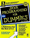 img - for Java Programming For Dummies by Donald J. Koosis (1999-01-25) book / textbook / text book