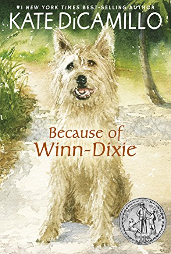 One summer's day, ten-year-old India Opal Buloni goes down to the local supermarket for some groceries – and comes home with a dog…  Because of Winn-Dixie by Kate DiCamillo