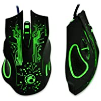 Franterd 2400DPI LED Optical 6D USB Wired Gaming Game Mouse For PC LAPTOP