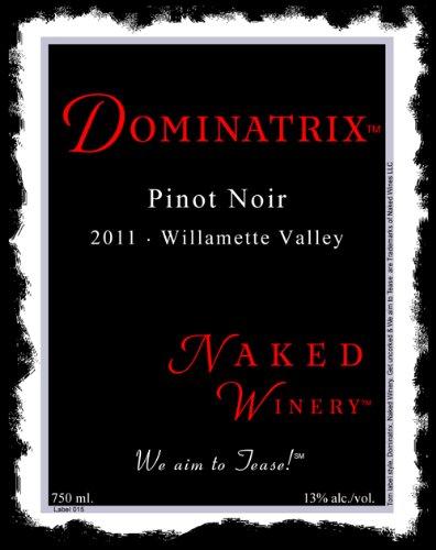 2011 Naked Winery Dominatrix Pinot Noir 750 Ml