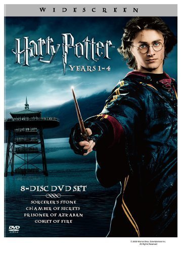 Harry Potter: Years 1-4 (Harry Potter and the Sorcerer's Stone / Chamber of Secrets / Prisoner of Azkaban / Goblet of Fire) by Warner Home Video by Chris Columbus, Mike Newell Alfonso Cuar?n