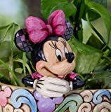 Jim Shore Disney Traditions Minnie Cachepot Character Plant Stake 4027151