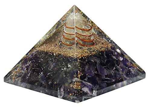 Harmonize Ametista Pietra Orgone simbolo croce Piramide