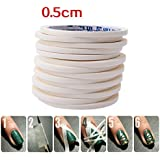 MSmask Soft Nail Art Tips Guide Tapes Striping Line Sticker Decor Tool