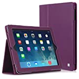 CaseCrown Bold Standby Case (Purple) for iPad 4th Generation with Retina Display, iPad 3 & iPad 2 (Built-in magnet for sleep / wake feature)by CaseCrown