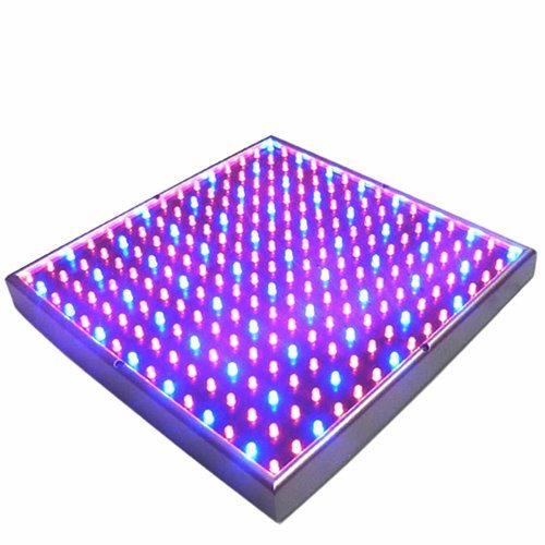 Hqrp 14W 225 Led Blue + Red Spectrum Hydroponic Plant Grow Light Panel / Lamp + Uv Meter