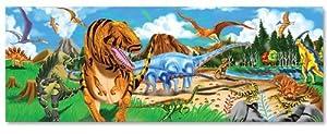 Melissa & Doug Land of Dinosaurs Floor Jigsaw Puzzle (48 Pieces)