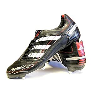 Steven Gerrard Hand Signed Football Boot - Adidas Predator by A1 Sporting Memorabilia