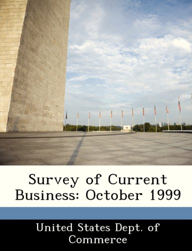 Survey of Current Business: October 1999