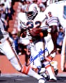 Autographed Mercury Morris 8x10 Miami Dolphins Photo
