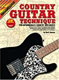img - for Progressive Country Guitar Technique book / textbook / text book
