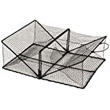 """Promar Collapsible Crawfish / Crab Trap 24""""x18""""x8"""" - American Maple Inc TR-101, Fishing Accessories"""