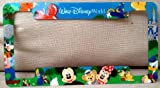 Walt Disney World Mickey Minnie Mouse Duffy Bear Car License Plate Tag Frame NEW