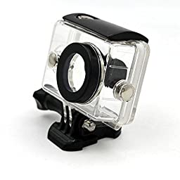 CALISTOUS Action Camera High Quality Image Recording Camera White