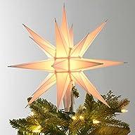 12″ Moravian Star/Tree Topper