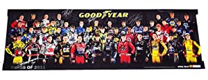 *36X AUTOGRAPHEDClass of 2011 Goodyear SIGNED NASCAR Driver Group Photo 11X33 Poster... by Trackside+Autographs