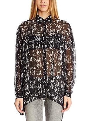 Pepe Jeans London Camisa Mujer Daria (Negro)