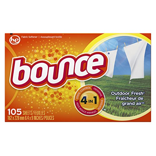 Bounce Outdoor Sheets, Fresh, 105 Count (Bounce Dryer Sheets Unscented compare prices)