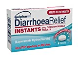 GALPHARM Diarrhoea Relief Instant Melts 2mg Loperamide Orodispersible Tablets 6's