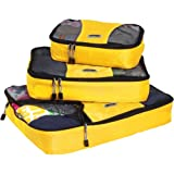 eBags Packing Cubes - 3pc Set (Canary)