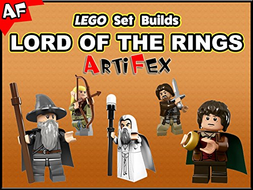 Clip: Lego Set Builds Lord of the Rings - Season 1