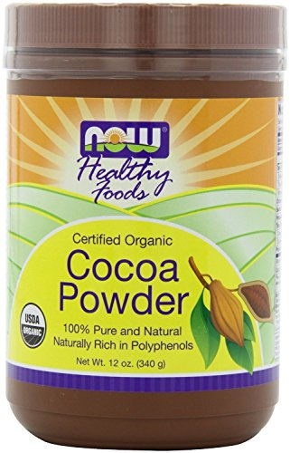 Now Foods Organic Cocoa Powder 12 oz