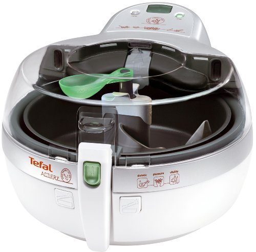 Tefal ActiFry AL800040 Low Fat Electric Fryer, 1 kg Capacity, White