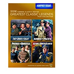 TCM Greatest Classic Legends Film Collection: Humphrey Bogart (They Drive by Night / Across the Pacific / Passage to Marseille / Action in the North Atlantic)