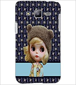 PrintDhaba Cute Doll D-3783 Back Case Cover for SAMSUNG GALAXY J2 (Multi-Coloured)