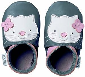 Bobux BB 4114 - Zapatos infantiles, diseño de gato, color gris marca Bobux