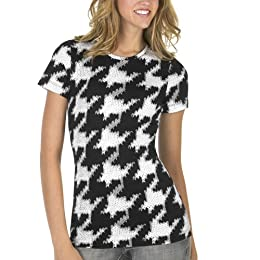 Large Print Houndstooth Tee