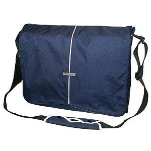 """Hercules """"Super Strong"""" LP-1700B 17-Inch Laptop Messenger Bag (Blue)"""