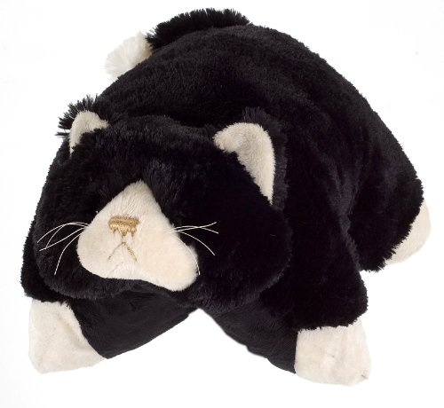 "My Pillow Pets Ms. Cat 18"" Large (Black)"