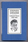 Collected Poems, 1928-85 (0571136982) by Spender, Stephen