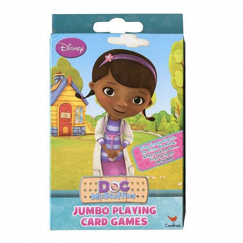 Disney Doc McStuffins Jumbo Playing Card Game Deck - 1