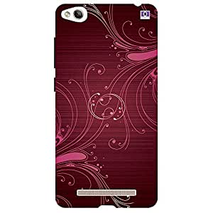 Brown & Pink Design - Mobile Back Case Cover For Xiaomi Redmi 3S