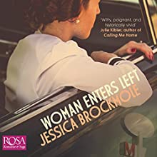 Woman Enters Left Audiobook by Jessica Brockmole Narrated by Caitlin Thorburn, Laurence Bouvard